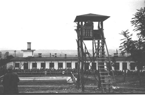 Camp for Polish prisoners of war/forced laborers (photo: DÖW)