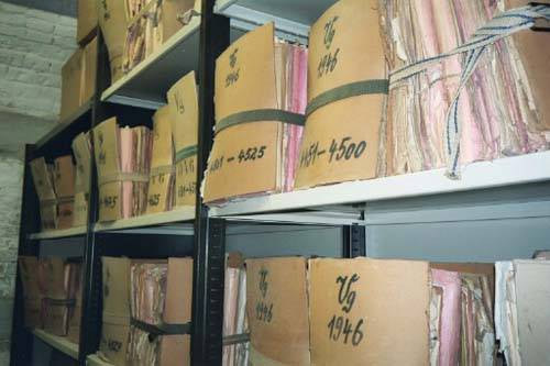 Files of the Volksgericht at the Landesgericht in Vienna