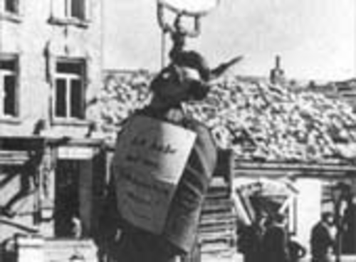 Execution in Vienna, 1945