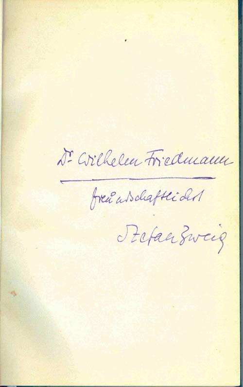 Döw Erforschen Recherche Bibliothek Stefan Zweig