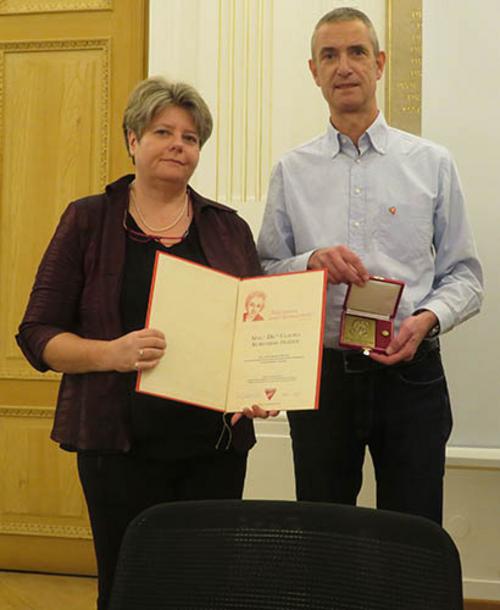 Claudia Kuretsidis-Haider und Gerald Netzl