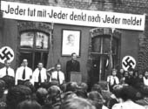 """Company appeal"", German Labor Front (photo: DÖW)"